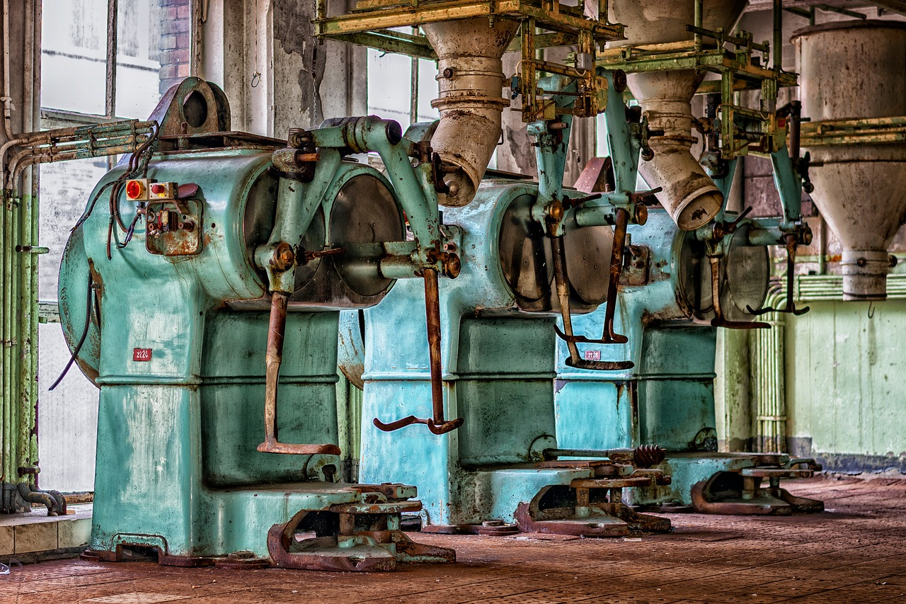 machines industrielles